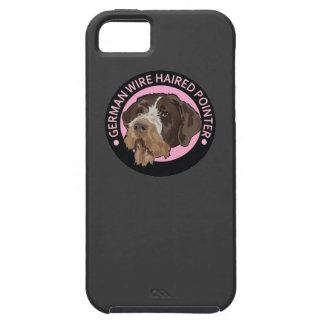 Indicador wirehaired alemán del perro iPhone 5 Case-Mate carcasas