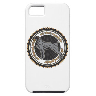 Indicador Wirehaired iPhone 5 Carcasas
