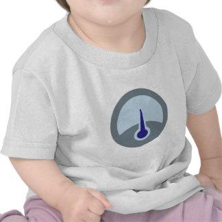 Indicate measuring instrument to gauge shirt