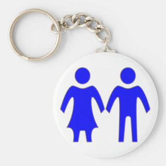 Indication Mrs. Mann sign woman one Keychain