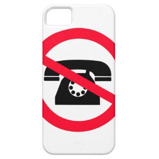 Indicativo ninguna vieja moda de la llamada funda para iPhone SE/5/5s