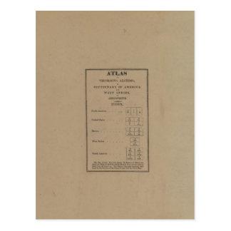Índice al atlas postal