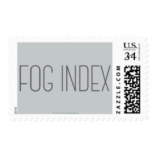 Índice de la niebla franqueo
