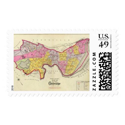 Índice del atlas de Cambridge Estampillas