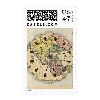 Índice del globo plegable de la patente sellos
