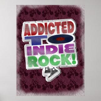 Indie addict poster