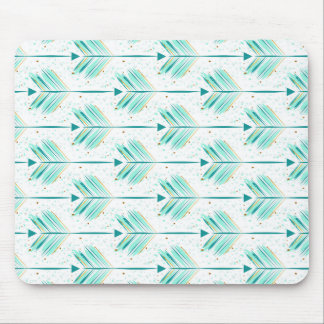 Indie arrow pattern mouse pad