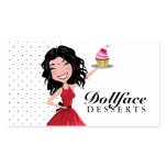 Indie de 311 postres de Dollface Plantilla De Tarjeta Personal