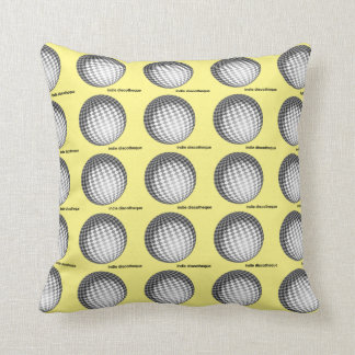 Indie DiscoDreams Throw Pillow