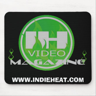 INDIE HEAT VIDEO MAGAZINE MOUSE PAD