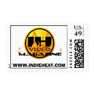 Indie Heat Video Magazine Stamp