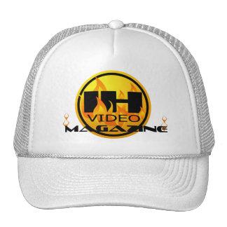 Indie Heat Video Magazine White/White Trucker Hat