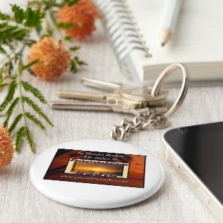 (Indie Heaven) Keychain/Keyring Basic Round Button Keychain