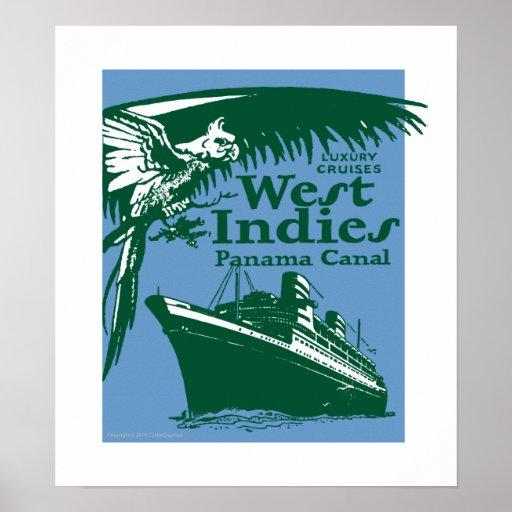 Indie-Impresión del oeste Posters