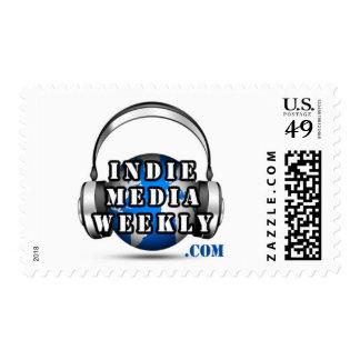 Indie Media Weekly Postage Stamps