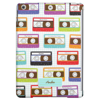 Indie Mixtapes Retro 80s Cassette Tape Pattern Case For iPad Air