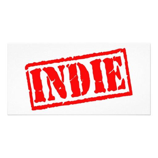 Indie Photo Card