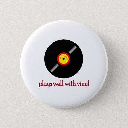 Indie Rock Kid Back Button