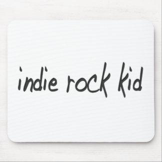 Indie Rock Kid Mouse Pad