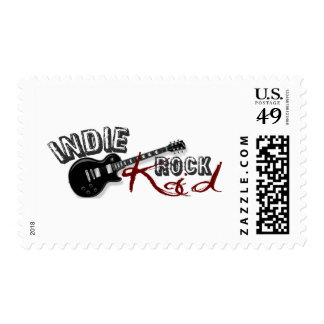 Indie Rock Kid Stamps