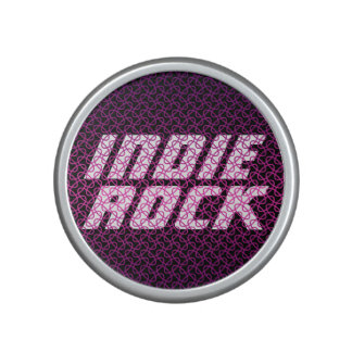 Indie Rock Metallic Mesh Pattern Speaker