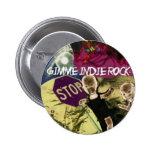 Indie Rock Pinback Button