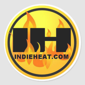 Indieheat.com Gold/Black Stickers