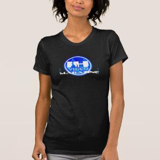 Indieheat Video Magzine Ladies Twofer Sheer Tee Shirts