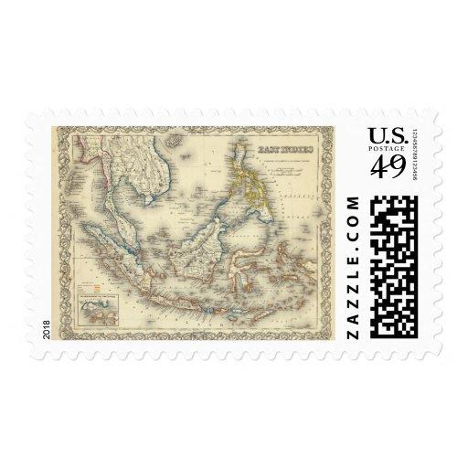 Indies del este 2 sellos