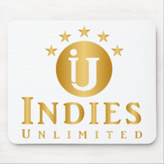 Indies Unlimited 5-Star Logo Mouse Pad