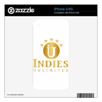 Indies Unlimited 5-Star Logo Skin For The iPhone 4