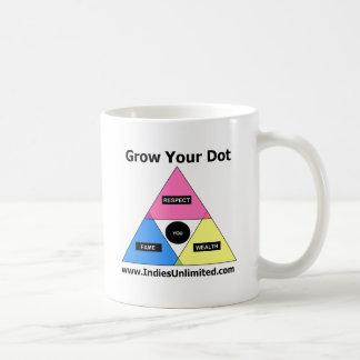 "Indies Unlimited ""Grow Your Dot"" Gear Coffee Mug"