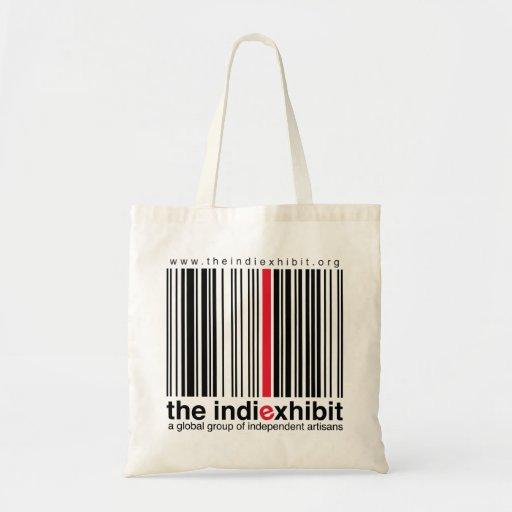 indiExhibit Logo Budget Tote Bag