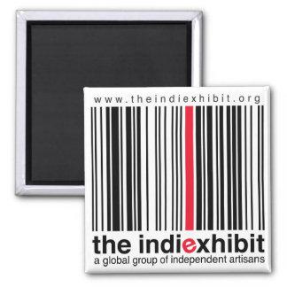 indiExhibit Logo Fridge Magnets
