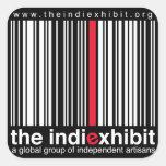 indiExhibit Logo Sticker