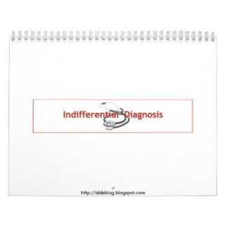 Indifferential Diagnosis 2010 Calendar