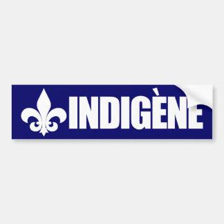 Indigene Etiqueta De Parachoque