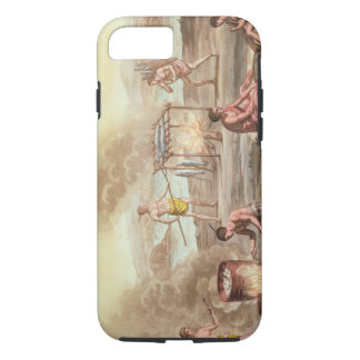 Indigenous natives from Florida preparing and cook iPhone 7 Case
