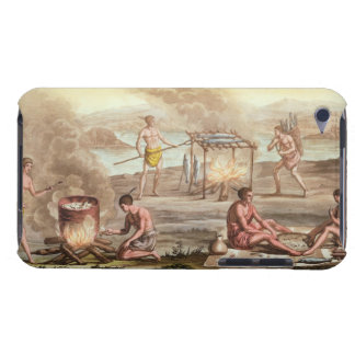 Indigenous natives from Florida preparing and cook iPod Touch Case-Mate Case