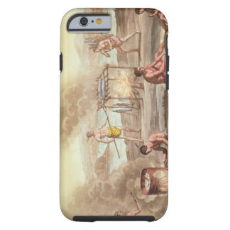 Indigenous natives from Florida preparing and cook Tough iPhone 6 Case