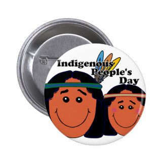 Indigenous People's Day Pinback Buttons