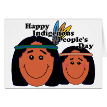 Indigenous People's Day Card