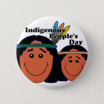 Indigenous People's Day Pinback Button