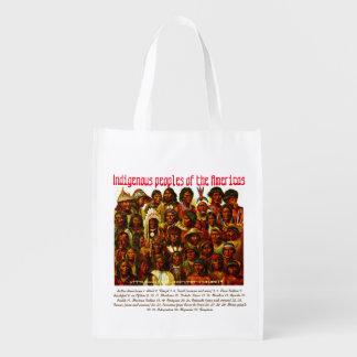 """Indigenous Peoples"" Grocery Bag"