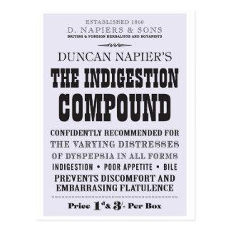 Indigestion Compound Postcard
