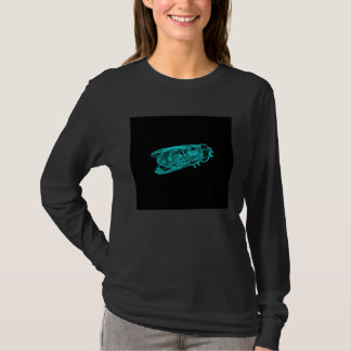 Indiglo Edged Fly by KLM T-Shirt