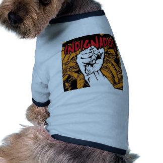 Indignados Camisetas De Mascota