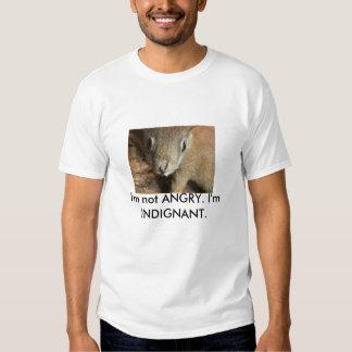 Indignant Squirrel Shirt