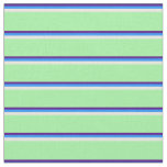 [ Thumbnail: Indigo, Blue, Beige, and Green Pattern Fabric ]