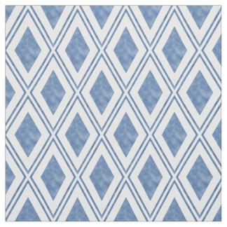 blue diamond pattern fabric zazzle